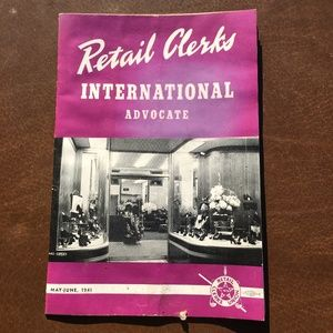 Retail Clerks International Advocate May-June 1941